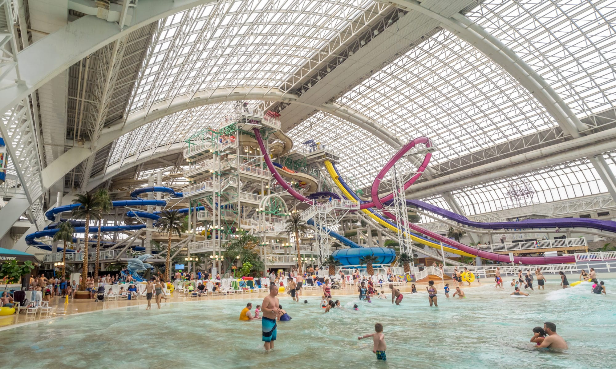West Edmonton Mall 2018 wave pool
