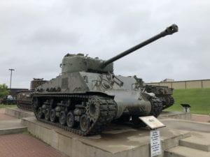 Canadian Sherman tank, Calgary Alberta, 2018