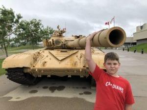 t72 tank calgary military museum