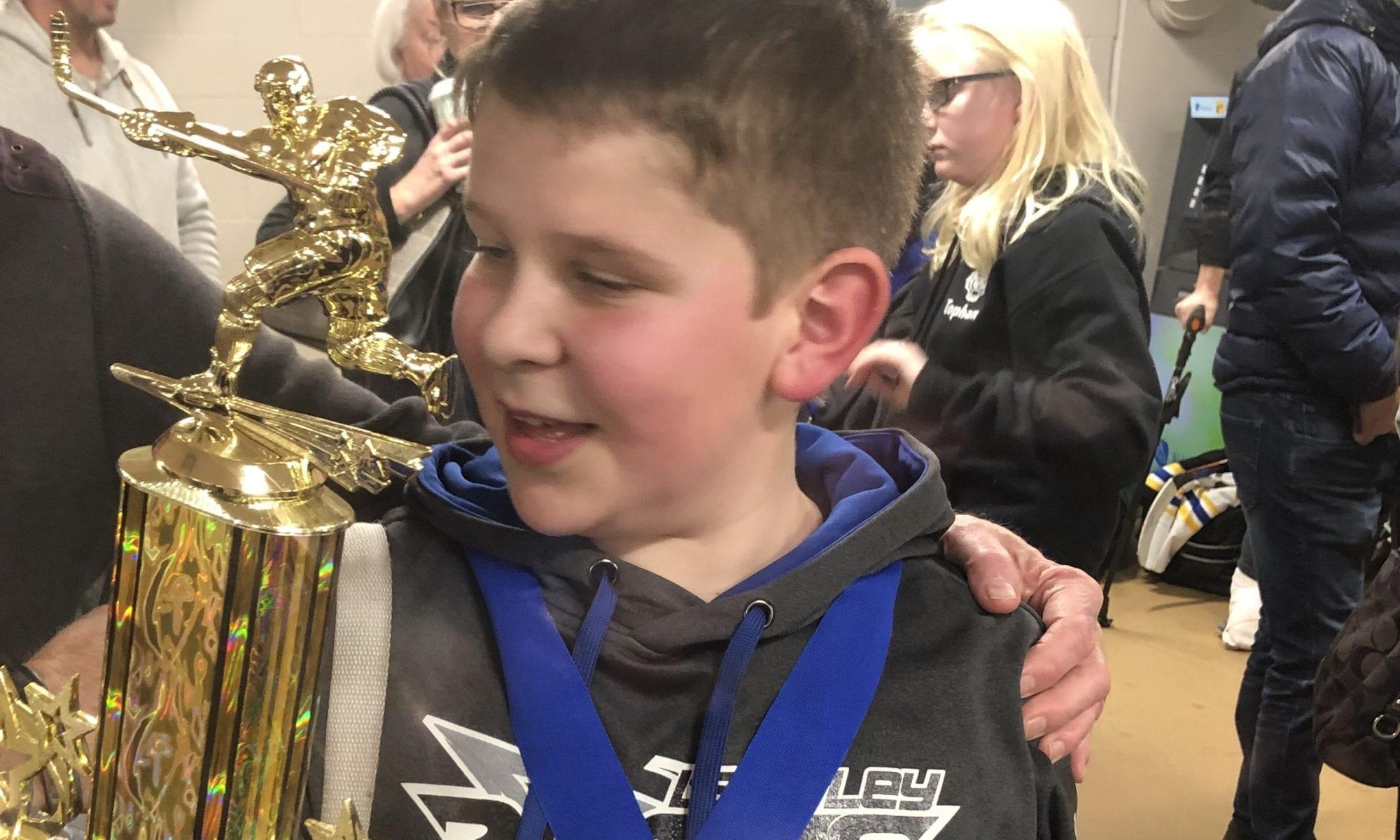 First hockey tournament win