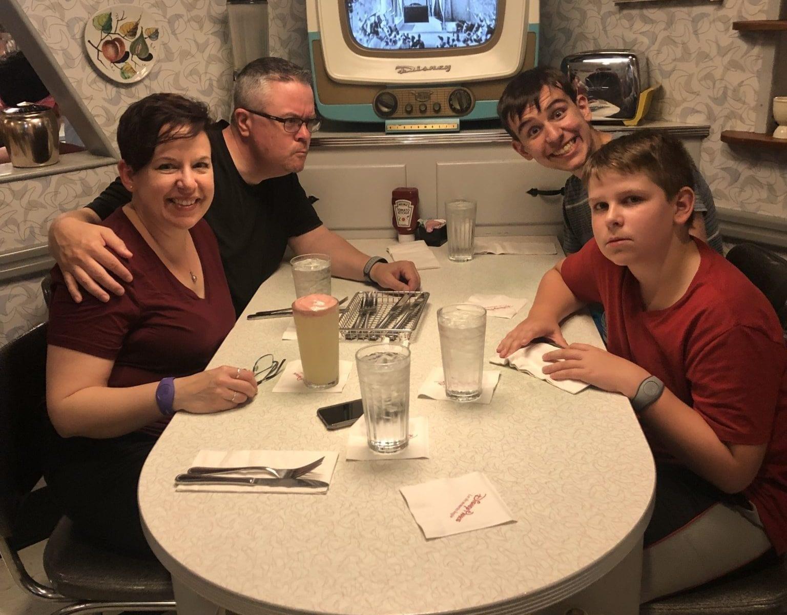 Disney World Vacations 2019 theme parks Hollywood Studios 50's Primetime Diner