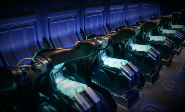 avatar flight of passage 'bikes' or saddles, animal kingdom, disney world